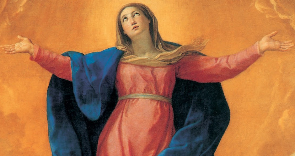 Maria, elevada ao céu em corpo e alma