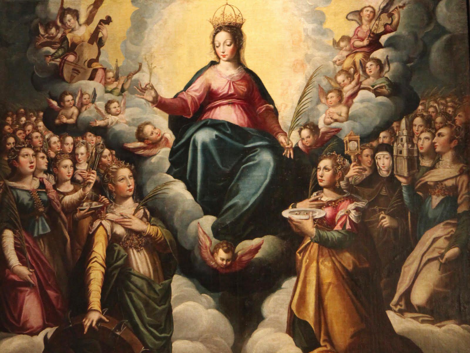 Resultado de imagem para virgem santíssima refugio dos pecadores