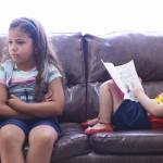 Como lidar com o ciúmes entre os filhos