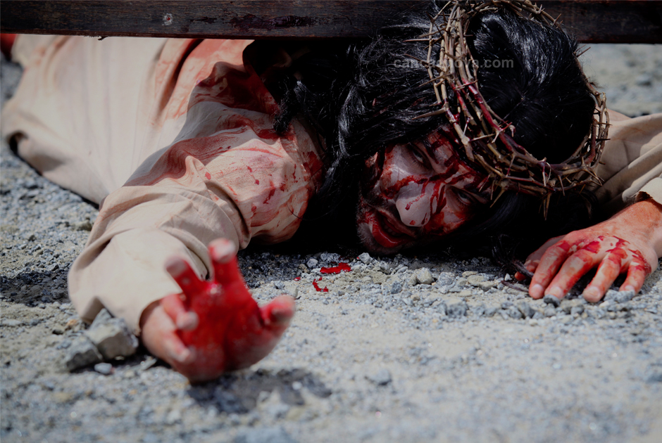 VII Estação – Jesus cai pela segunda vez