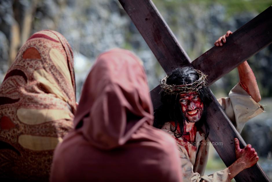 VIII Estação – Jesus exorta as mulheres de Jerusalém