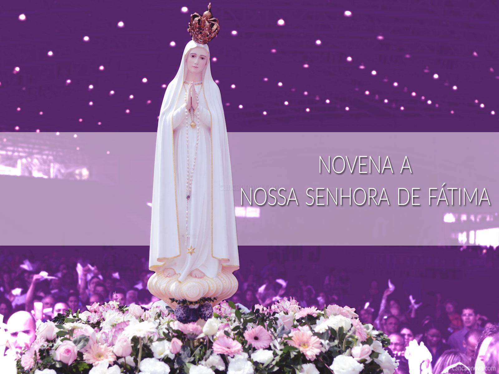 Novena-a-Nossa-Senhora-de-Fátima