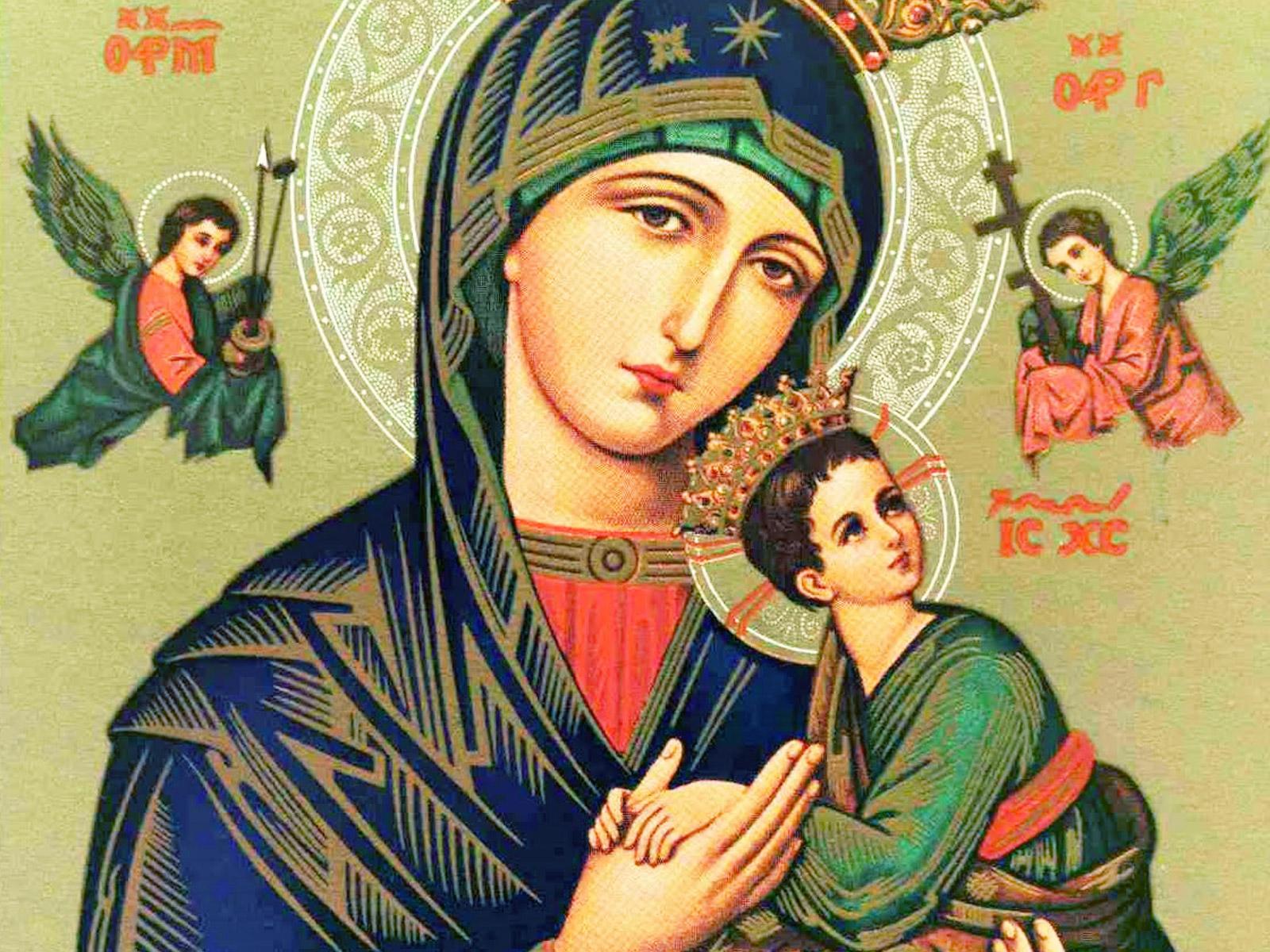 Resultado de imagem para Nossa Senhora do Perpetuo Socorro
