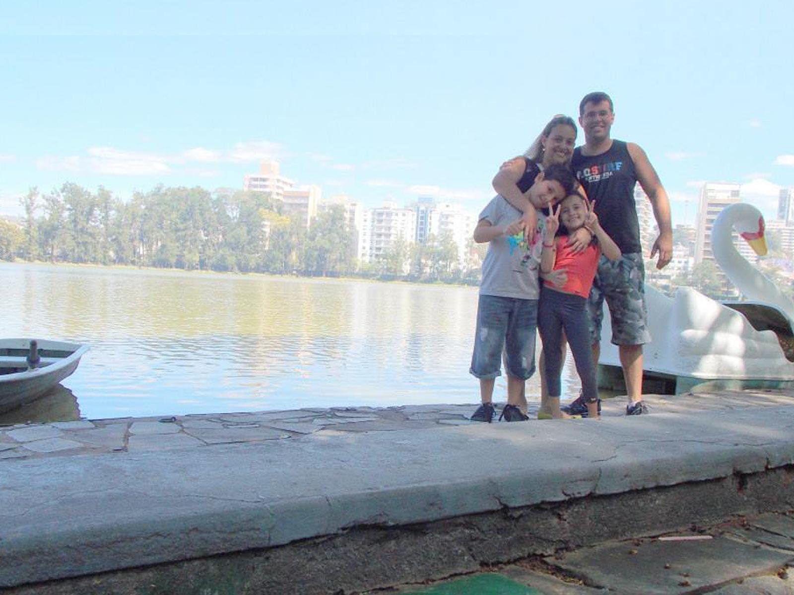 Marcelo e sua família