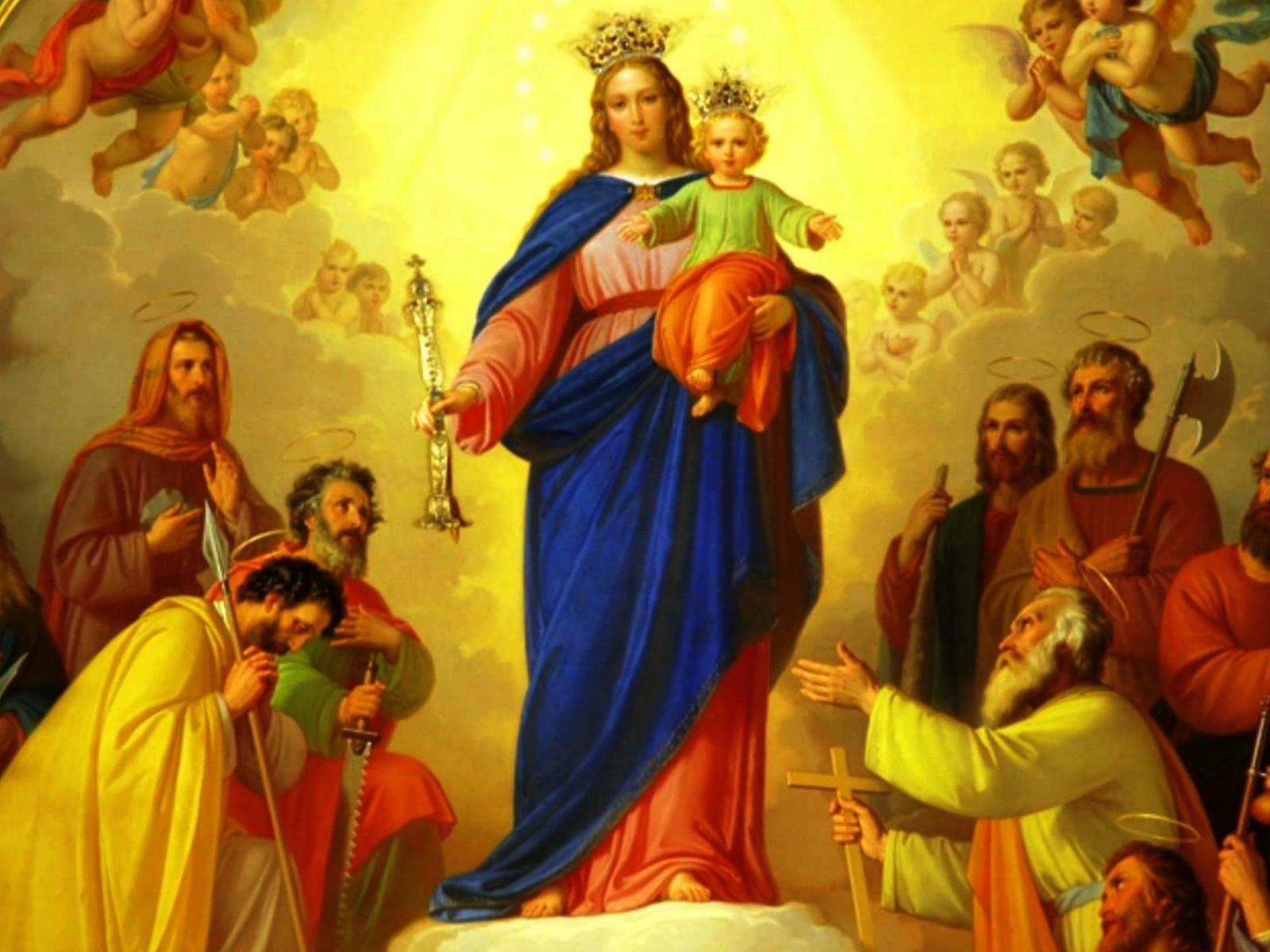 Consagração dos jovens à Virgem Maria -1600x1200