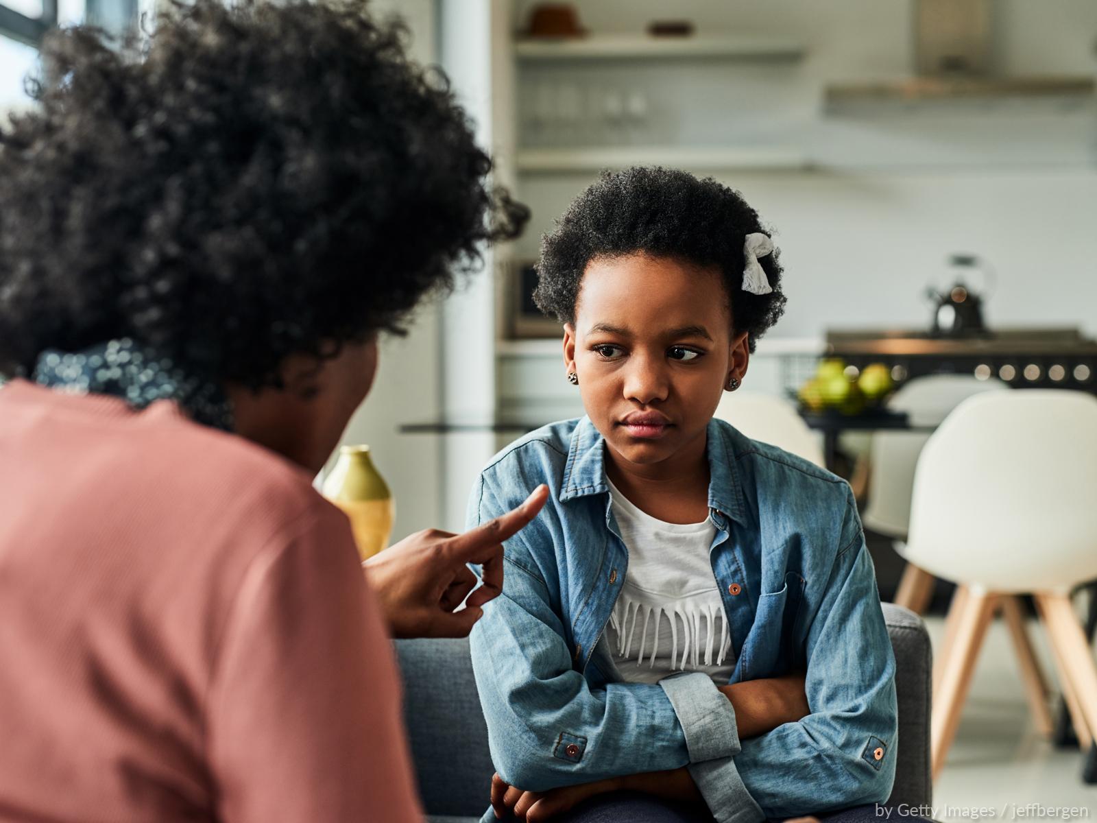 A importância de dizer não na educação dos filhos