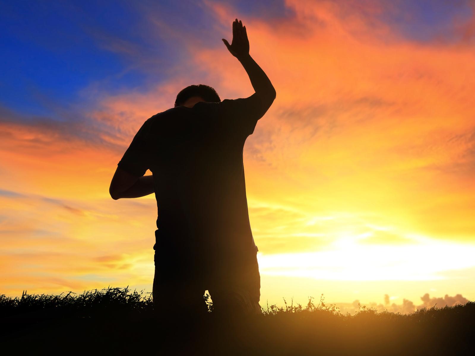 Oração por do sol