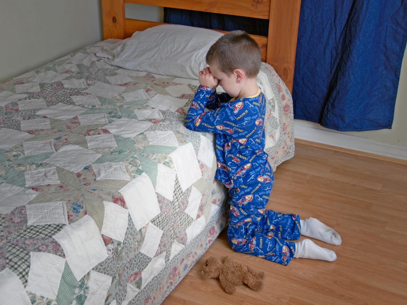 Oração antes de dormir - 1600x1200