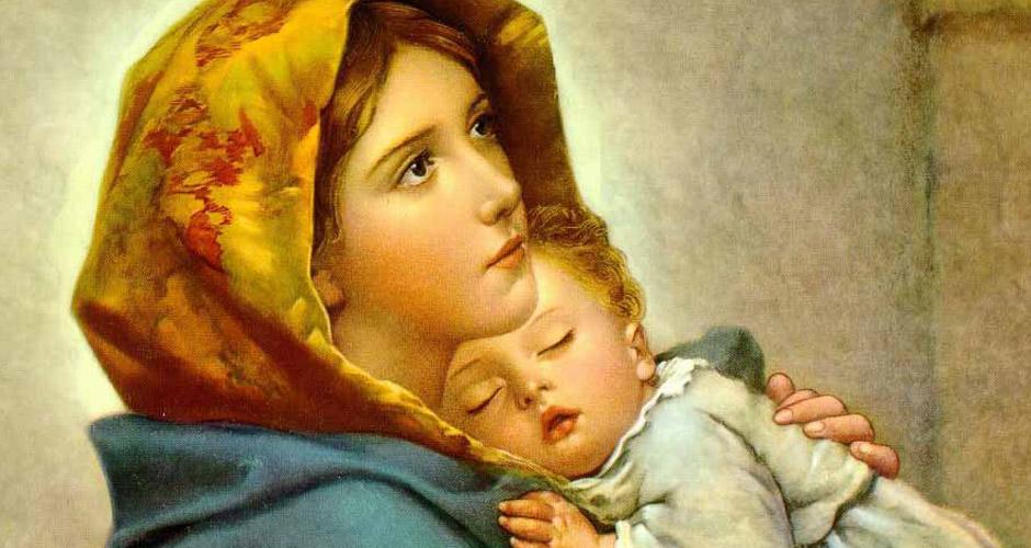 Resultado de imagem para dogmas marianos na biblia