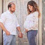 Como o casal se prepara para receber o primeiro filho