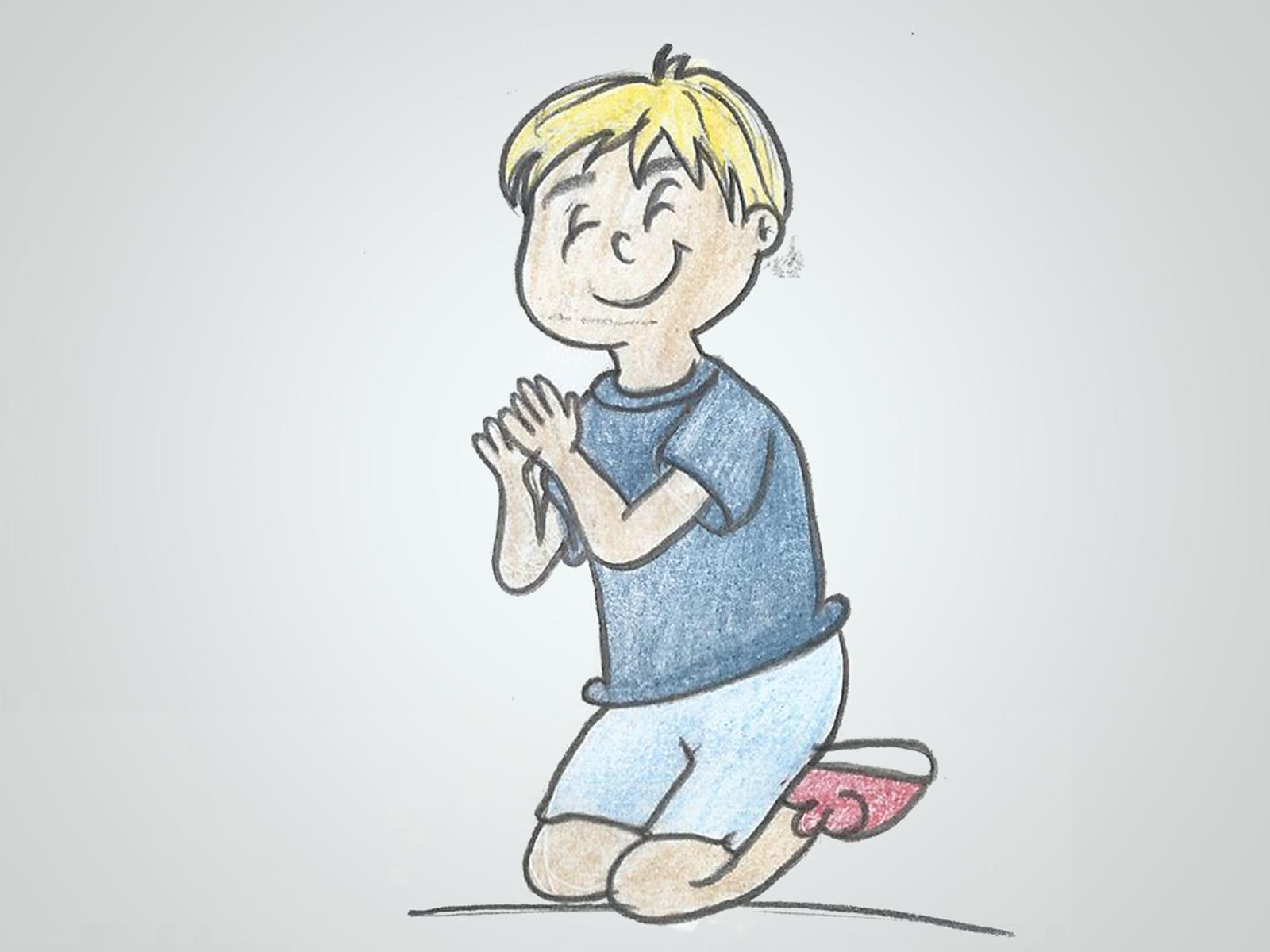 Como deve ser a oração das crianças