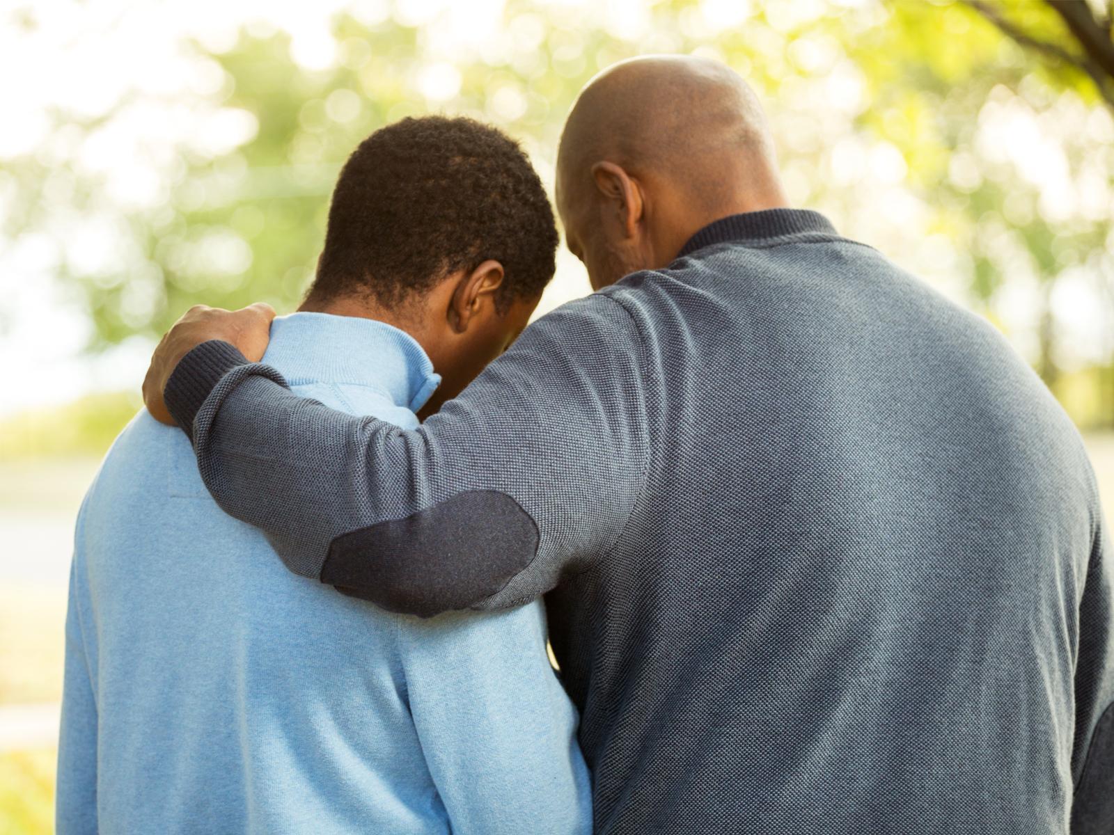 Oração de libertação para os filhos abandonados pelo pai
