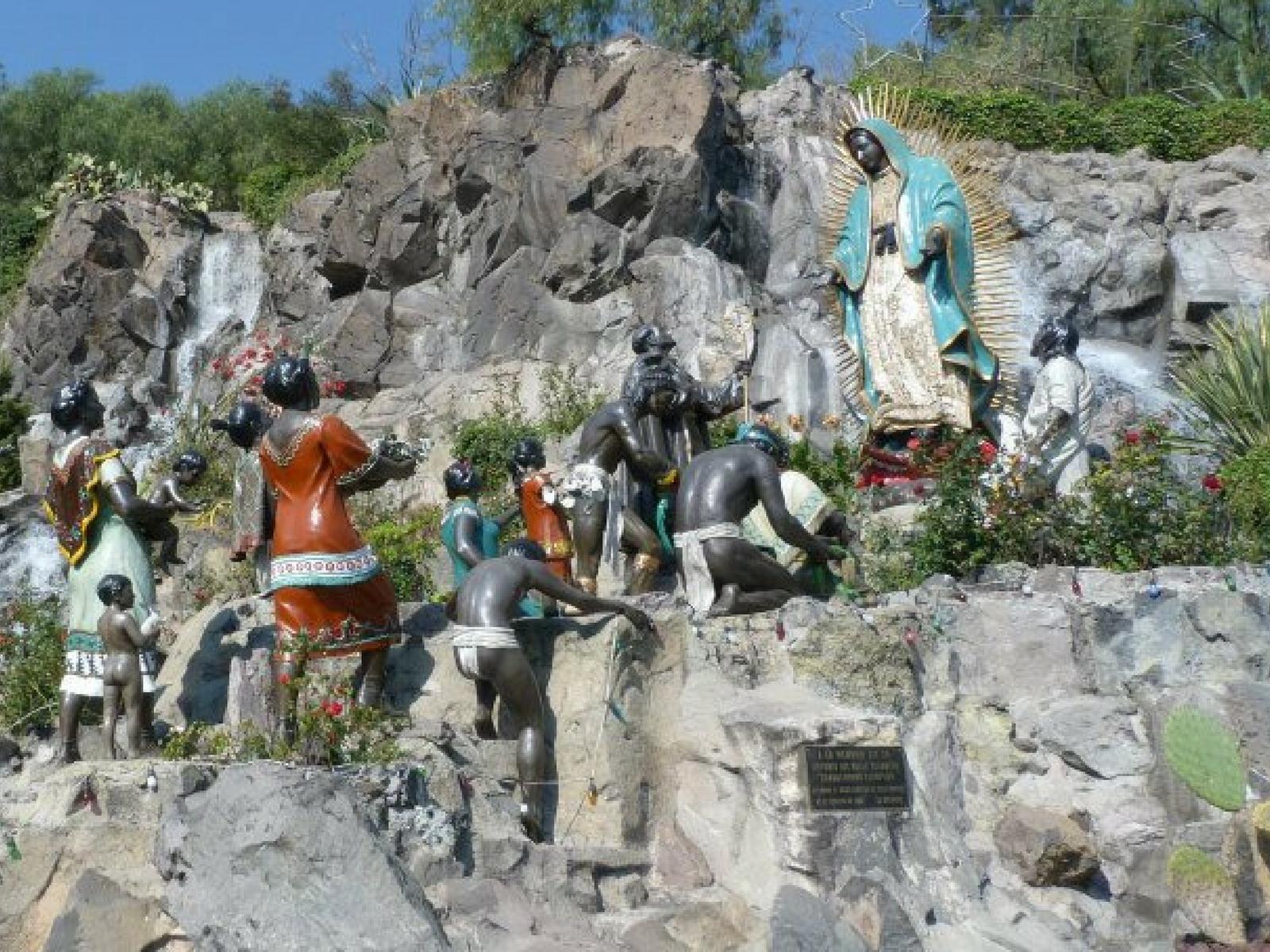 A Santidade no caminho presente no caminho por Guadalupe