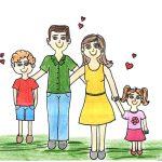 Eduque seus filhos bem alicerçados em valores