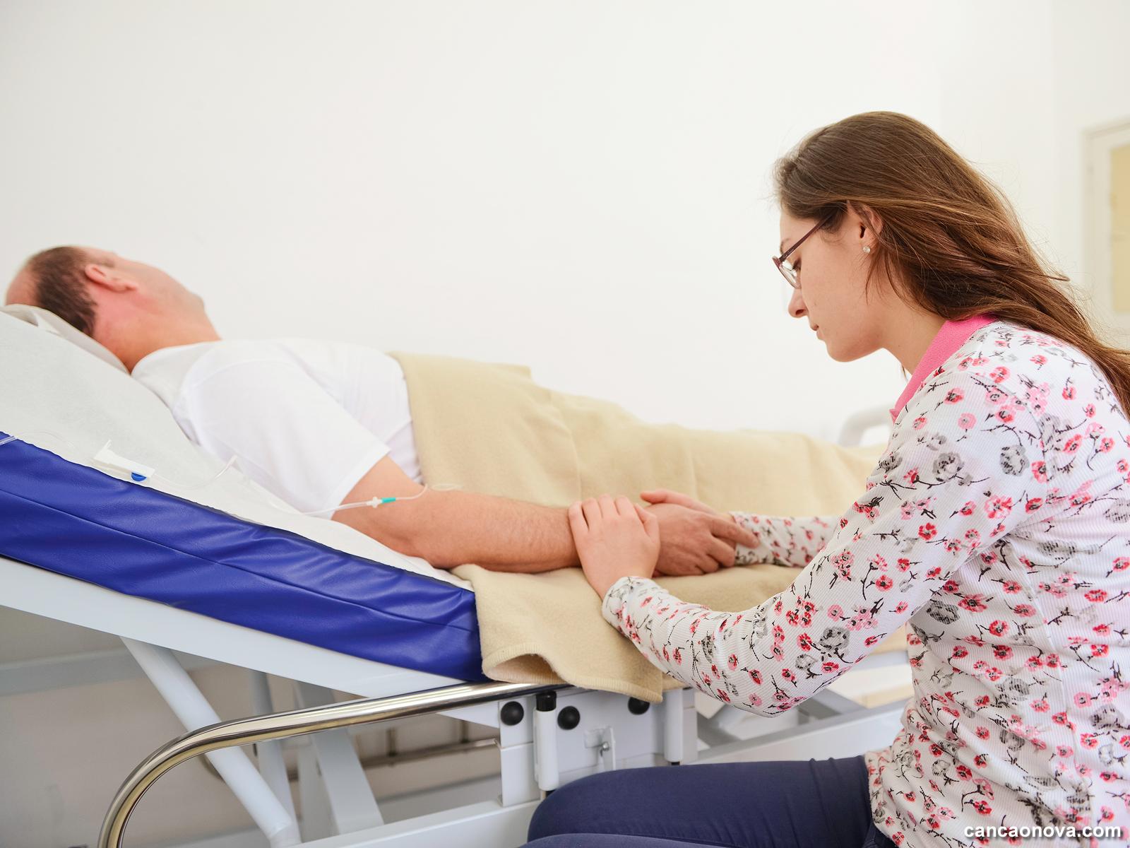 Como contemplar o Cristo no irmão doente