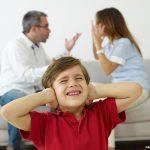 Os filhos carregam sentimentos de culpa com a separação dos pais