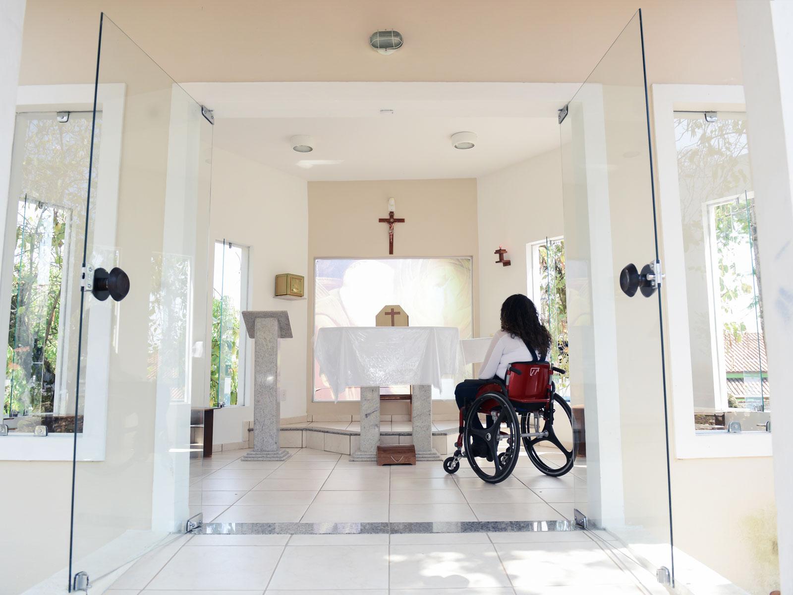 A história de luta e vitória de uma pessoa com deficiência