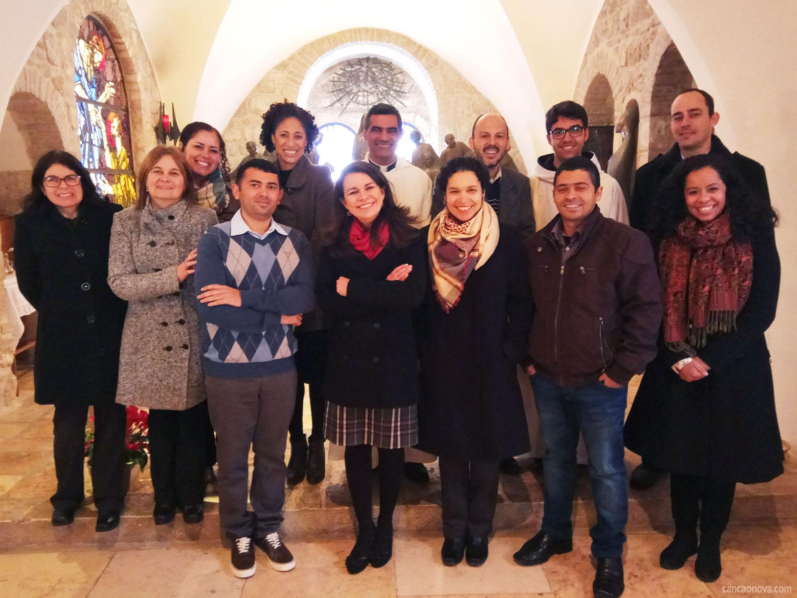 Como é trabalho missionário da Canção Nova na Terra Santa