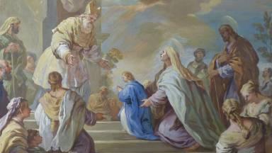 A Apresentação da Virgem Maria no Templo de Jerusalém