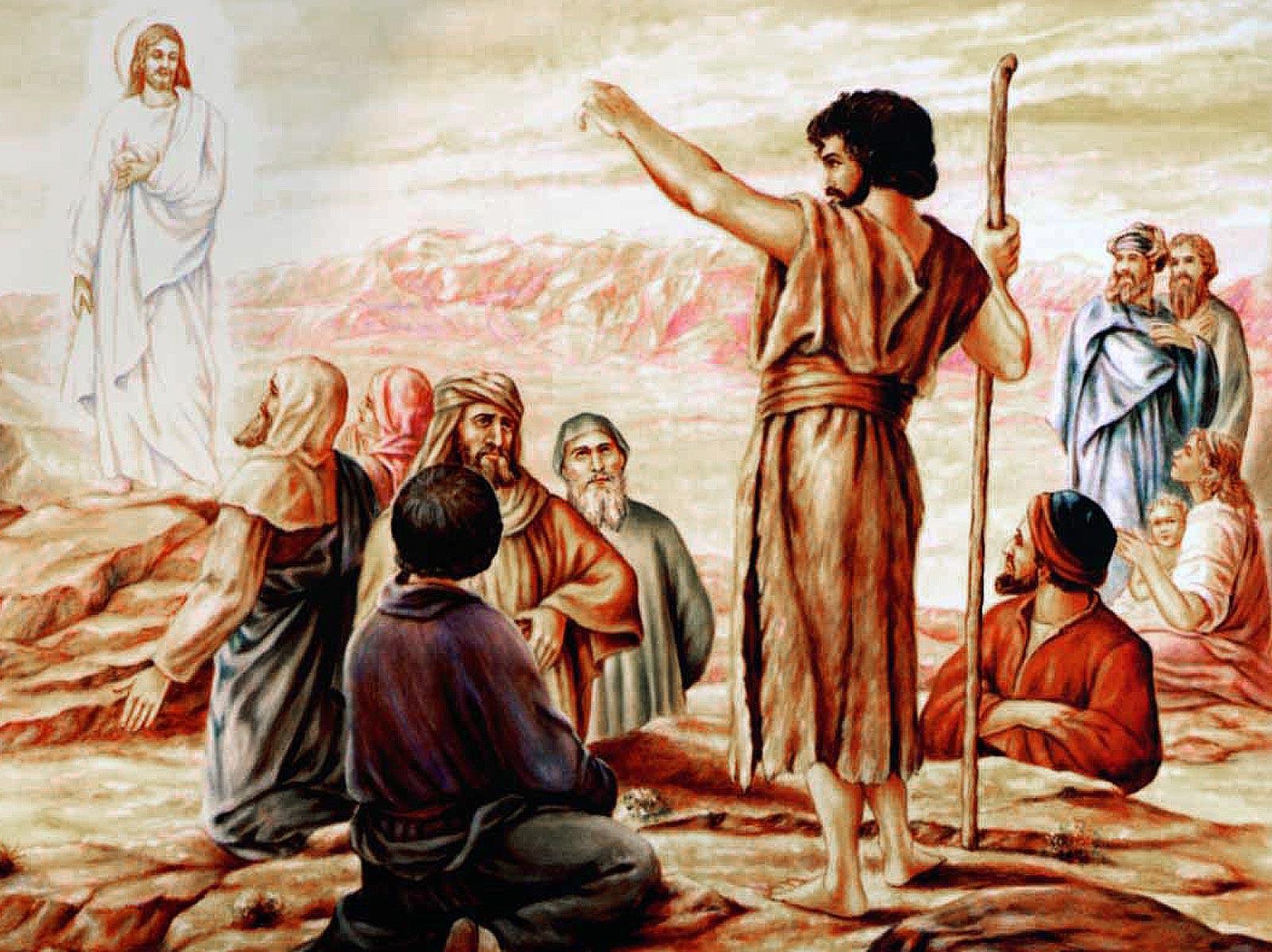 A missão de João Batista é nos preparar para a vinda do Senhor