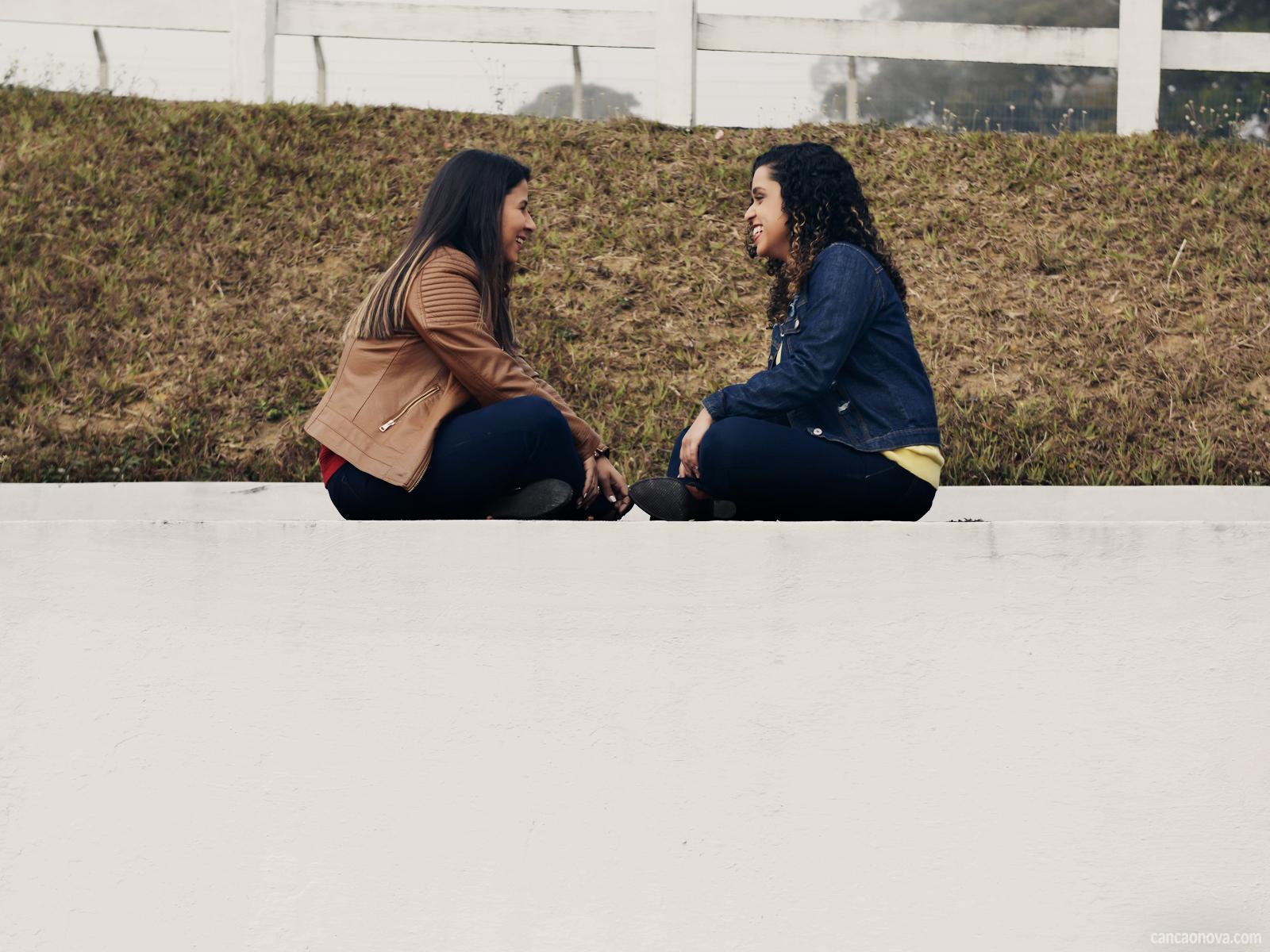 Um amigo é o refúgio para todos os momentos da nossa vida