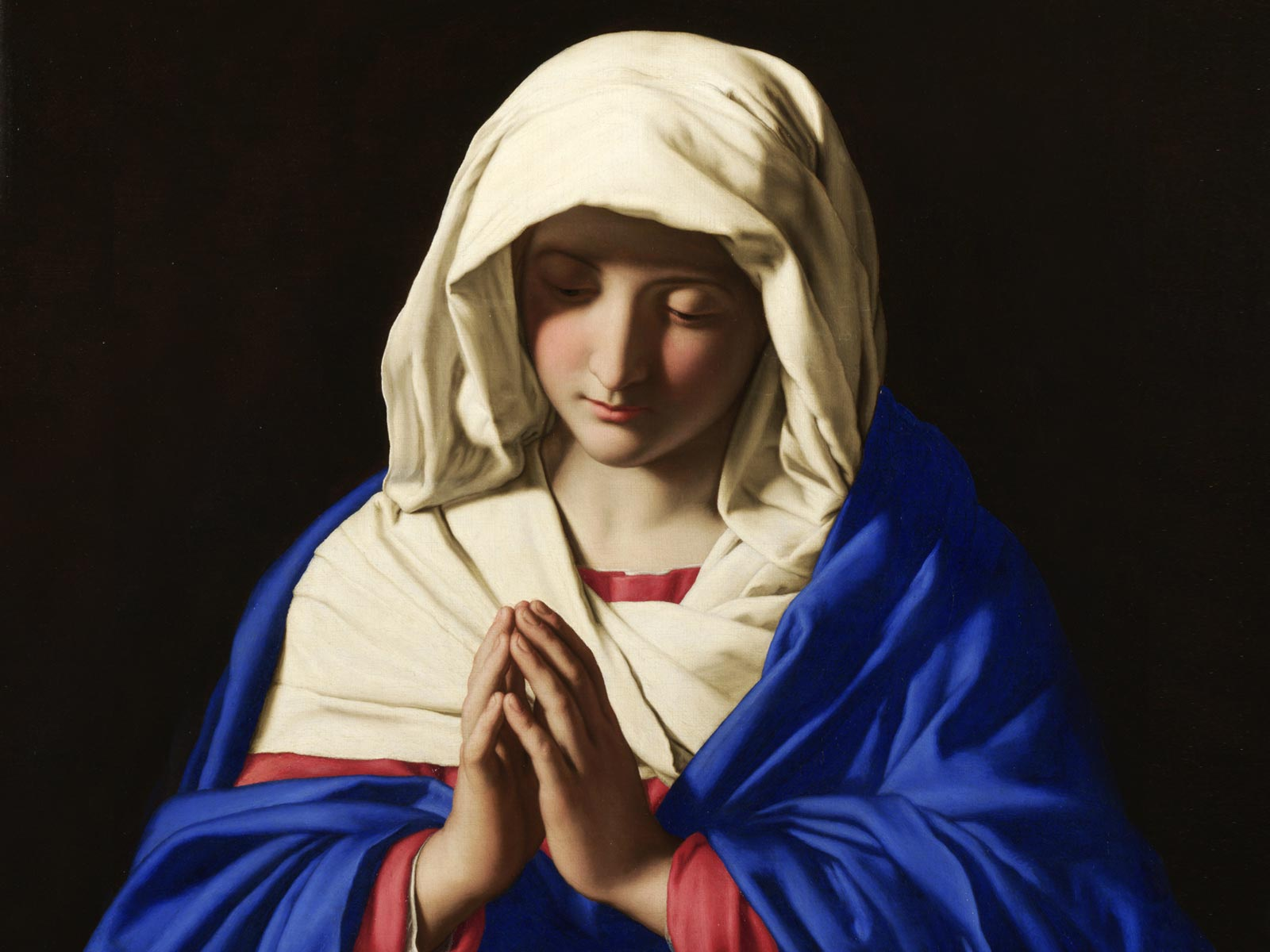 O Mundo Inteiro Espera A Resposta De Maria: Reflita Sobre O Modelo De Fé Da Jovem Virgem Maria