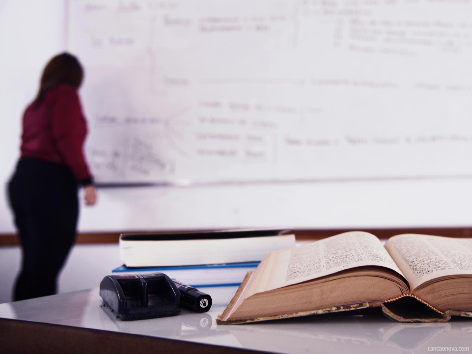 Qual é a diferença entre o professor e o educador?
