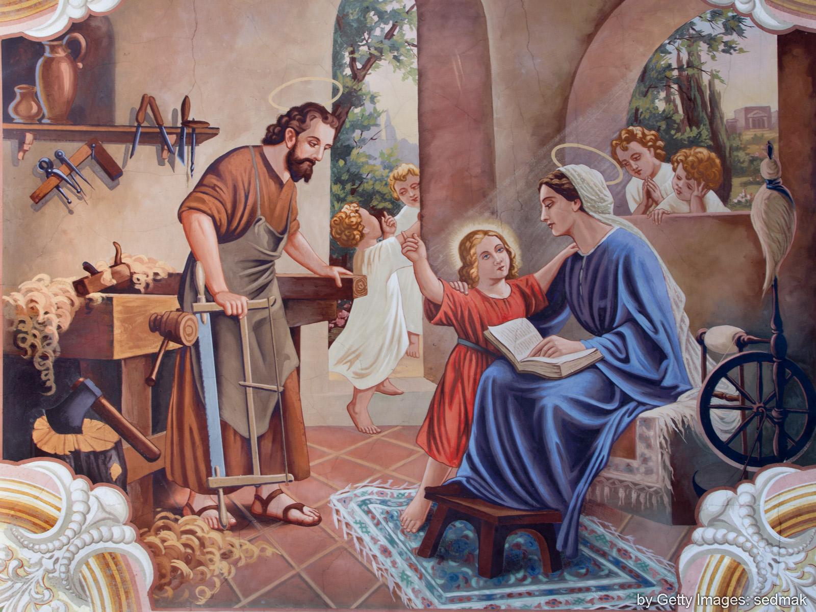 Celebremos a festa da Sagrada Família de Nazaré