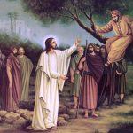 Um encontro que transforma vidas o momento entre Zaqueu e Jesus