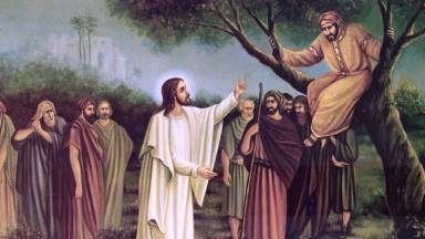 Um encontro que transforma vidas: o momento entre Zaqueu e Jesus