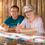 Cleto Coelho e Carla Astuti dizem como é a vida de casado