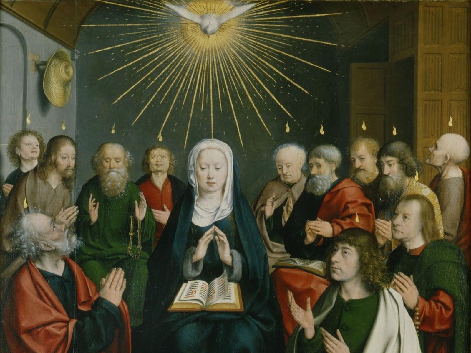 Se Maria já era cheia do Espírito Santo, o que aconteceu com ela em Pentecostes?