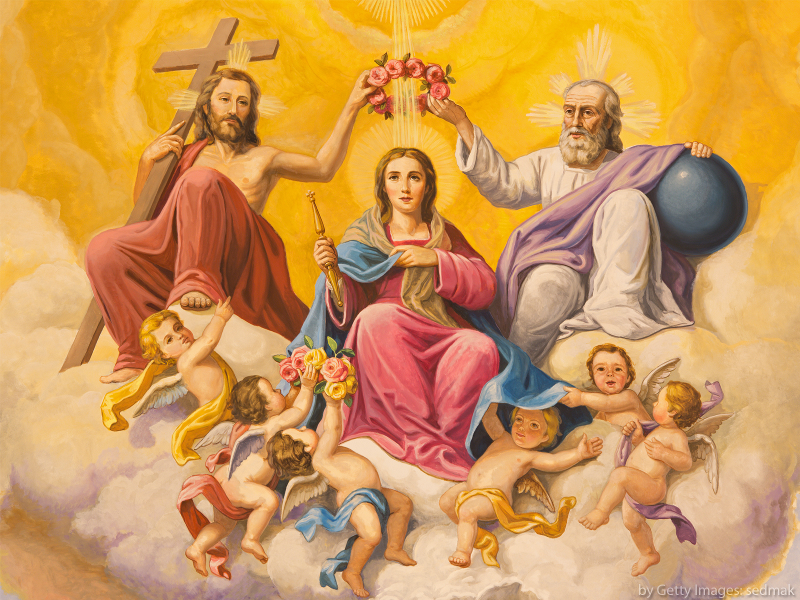 O que são os dogmas marianos?