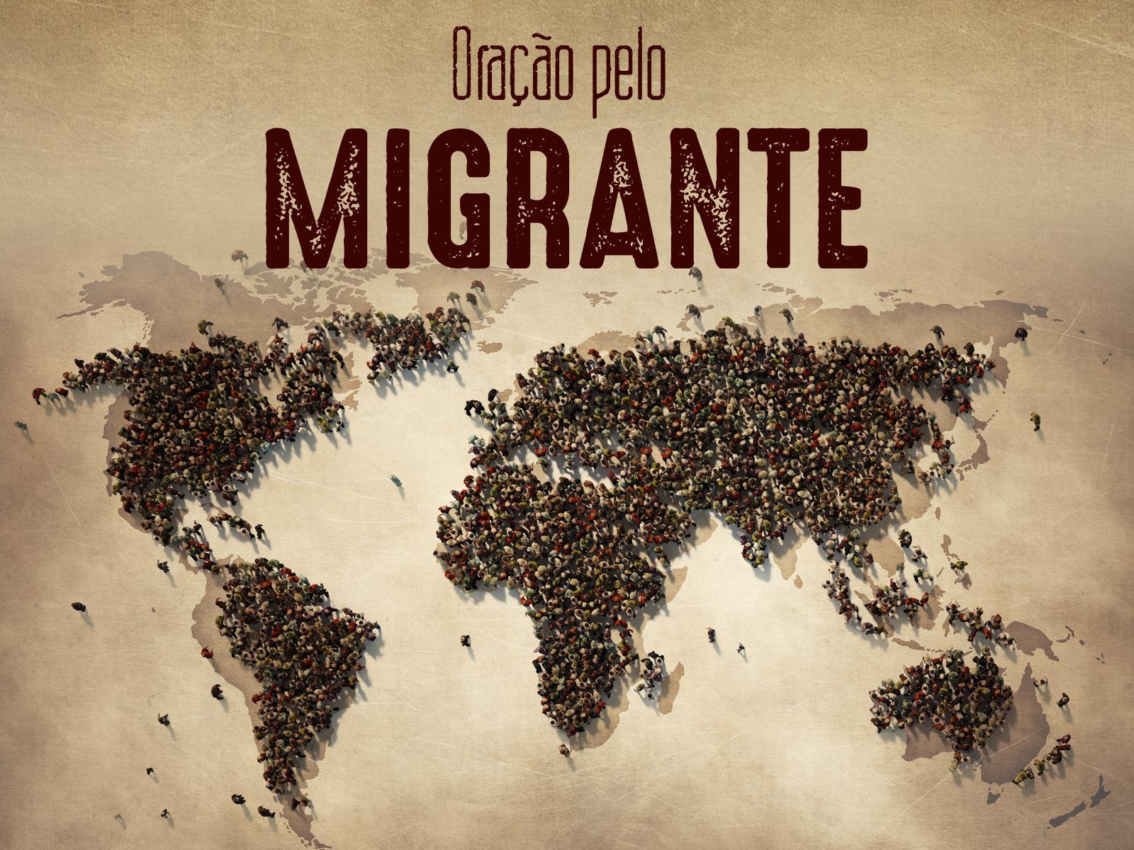 Rezemos pelos migrantes e refugiados