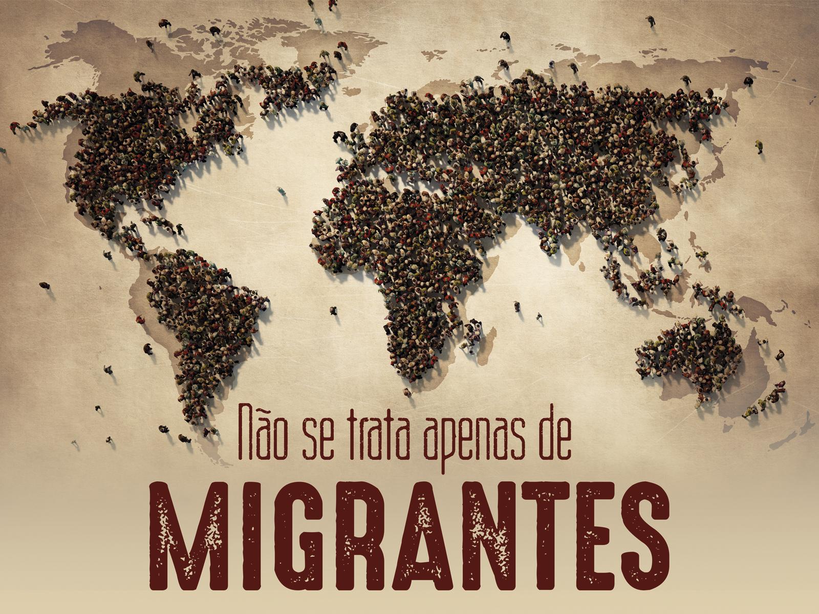 Serie Não se trata apenas migrantes