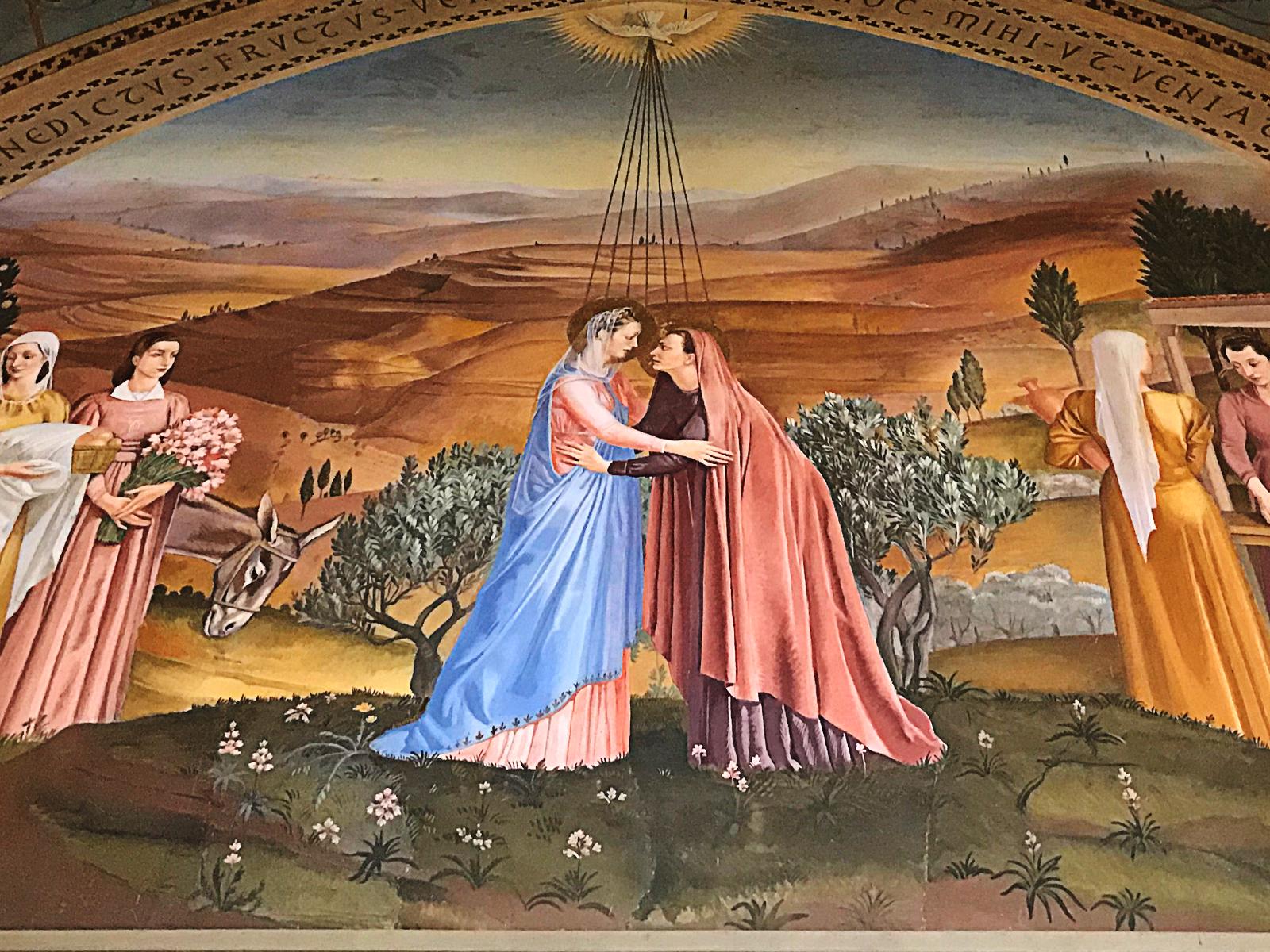 Maria e Isabel: o encontro das promessas que faz olhar para frente