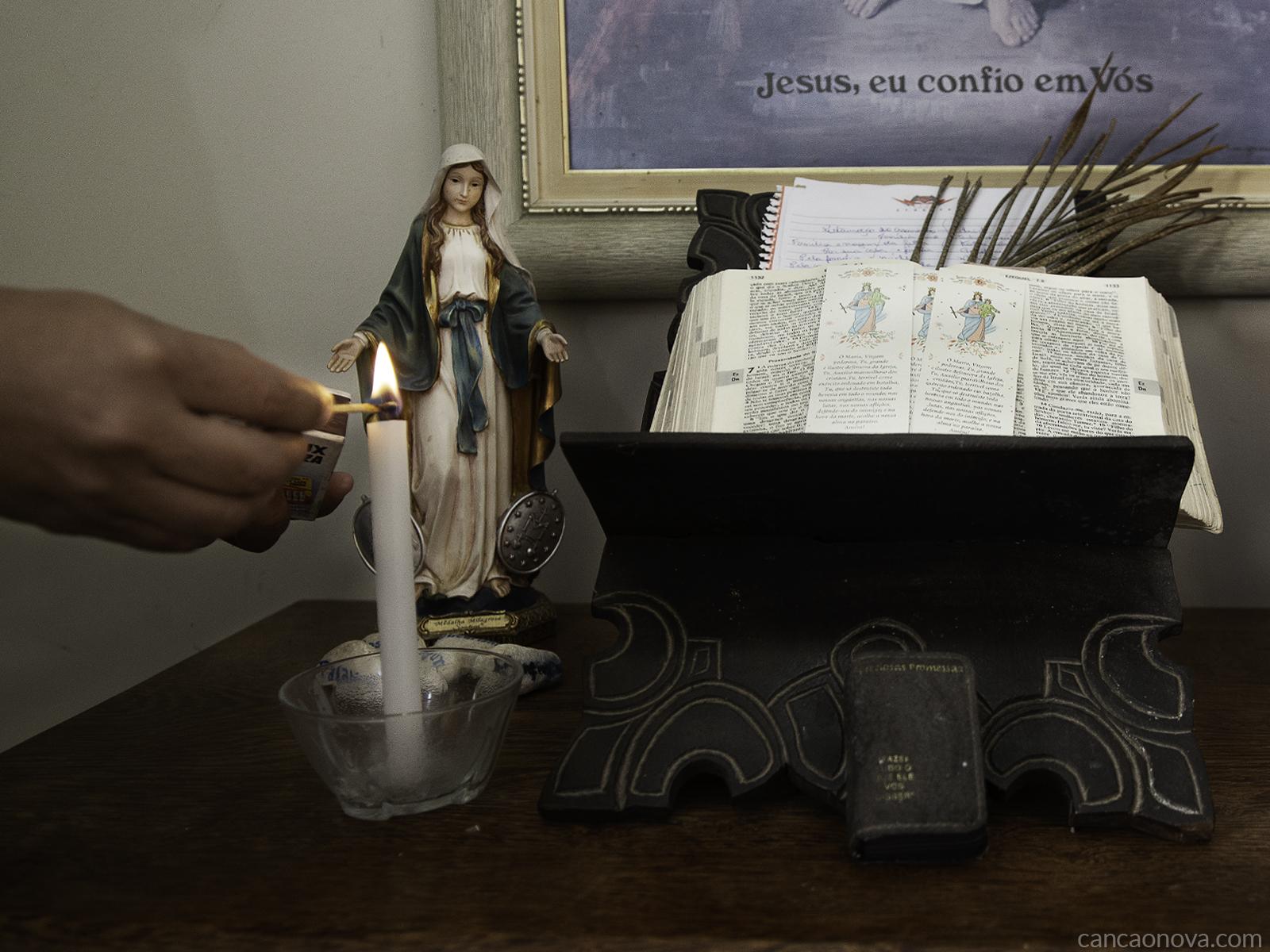 Na quarentena, convide Jesus para o seu lar