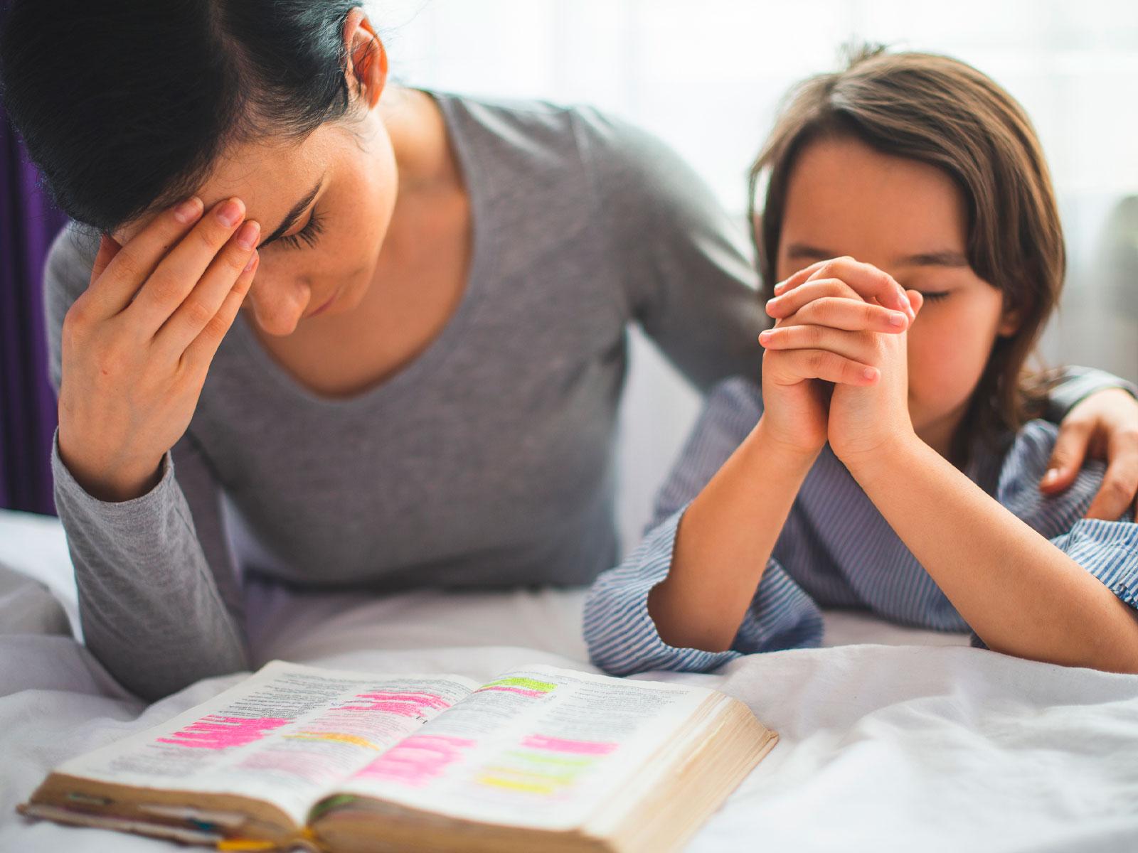 Oração dos filhos pelas mães