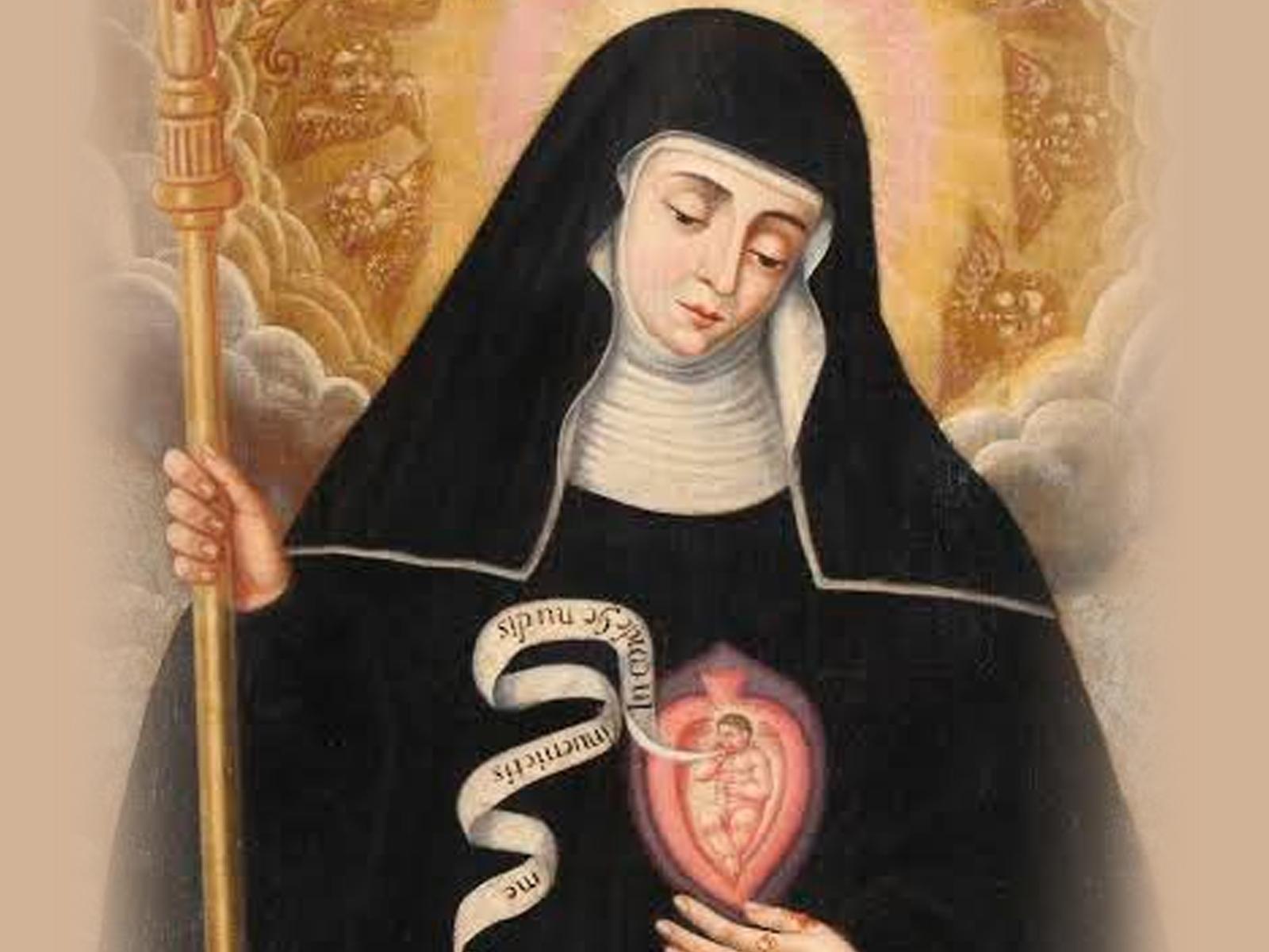 Conheça Santa Gertrudes, devota do Sagrado Coração