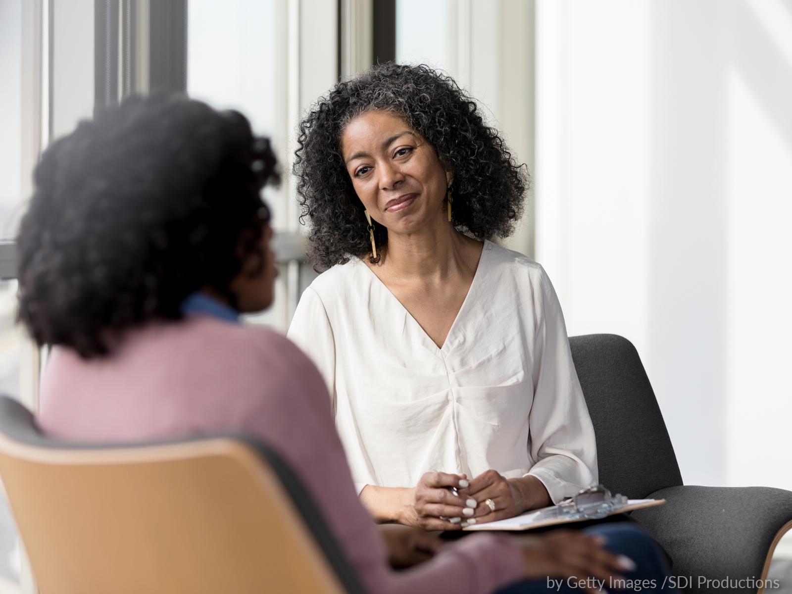Conversando com a psicóloga e tirando suas dúvidas