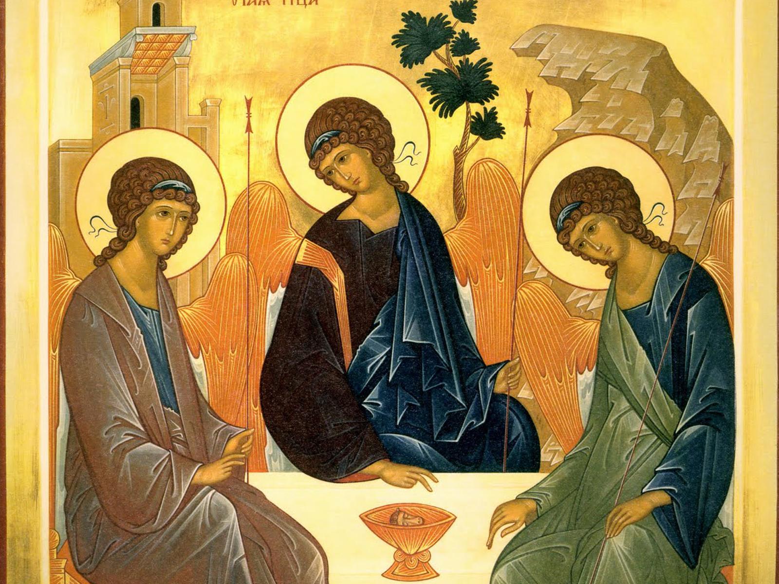 A Trindade a cruz