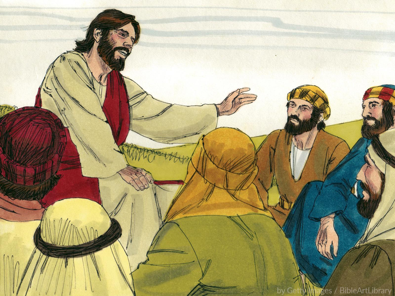 Formação contínua de catequistas ensinando em parábolas