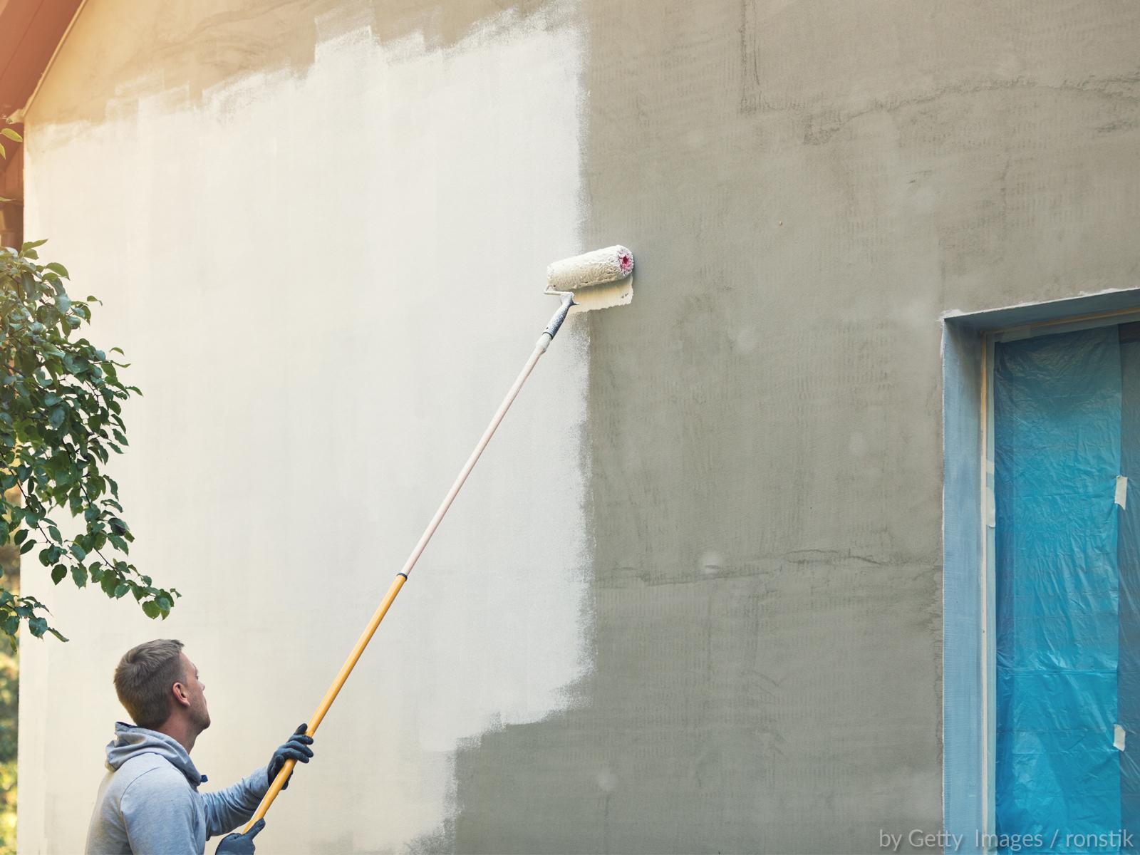 O sentido sobrenatural de não pintar a frente da casa