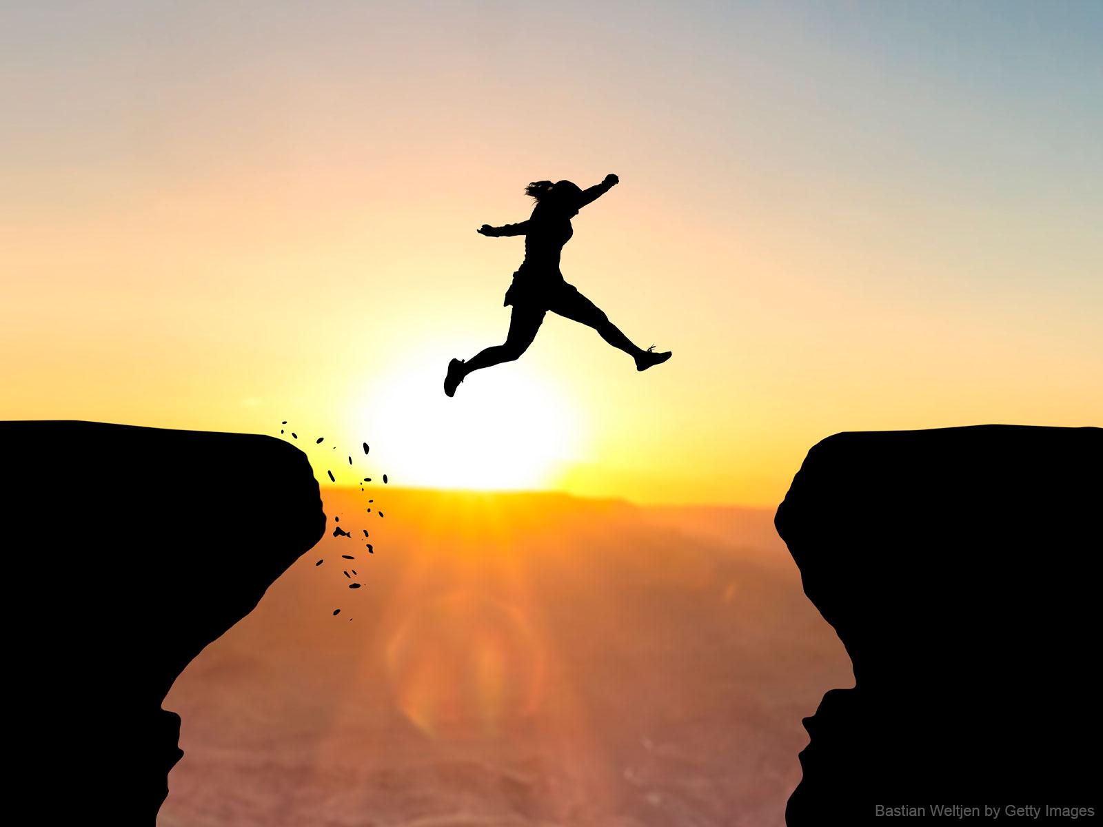 A fé: coragem pra caminhar sem ver