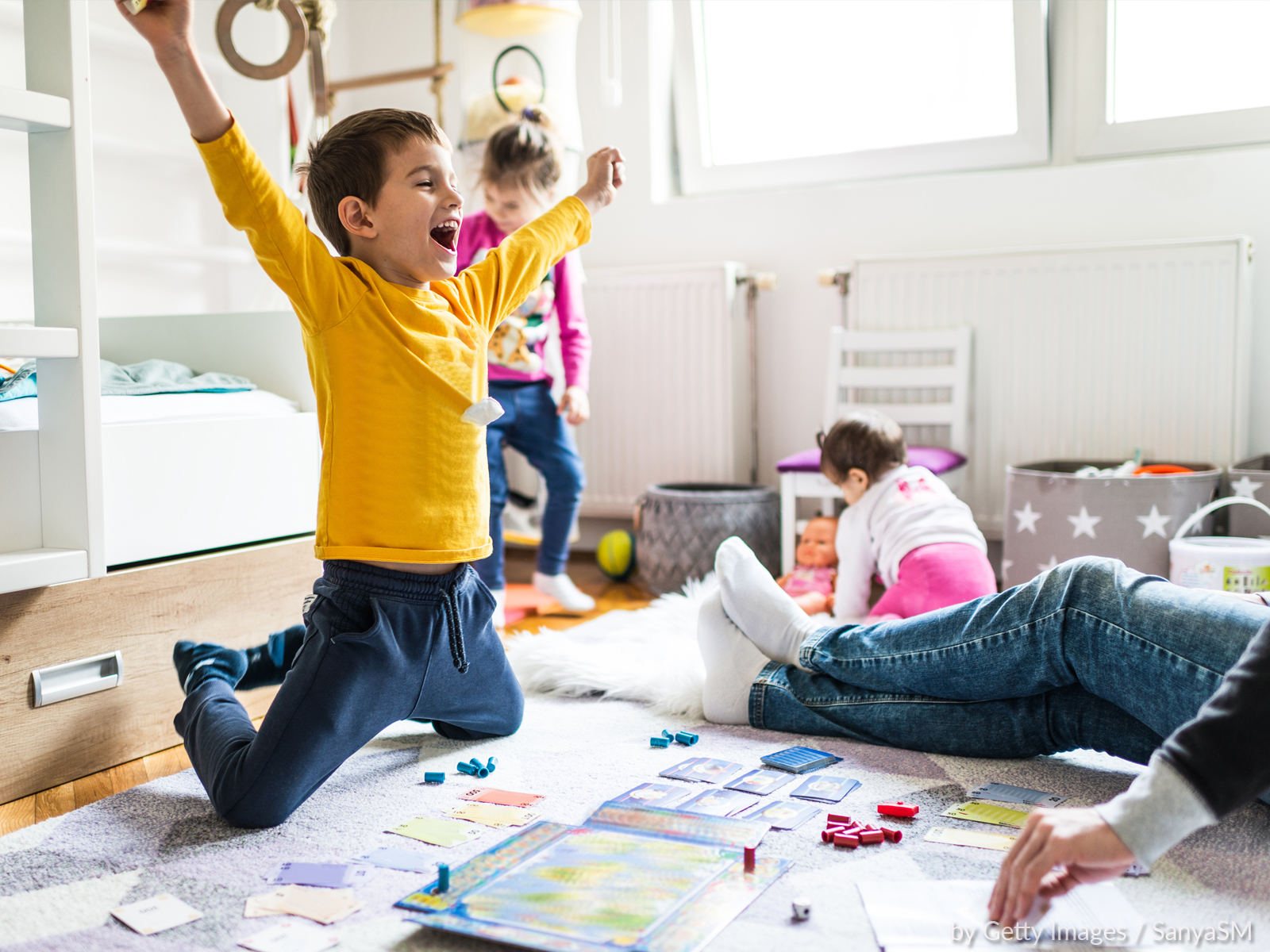 Crianças ainda dentro de casa. O que mais podemos fazer?