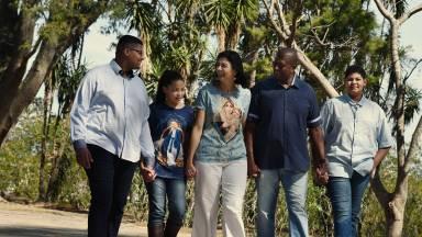O conceito de ser uma família em Deus