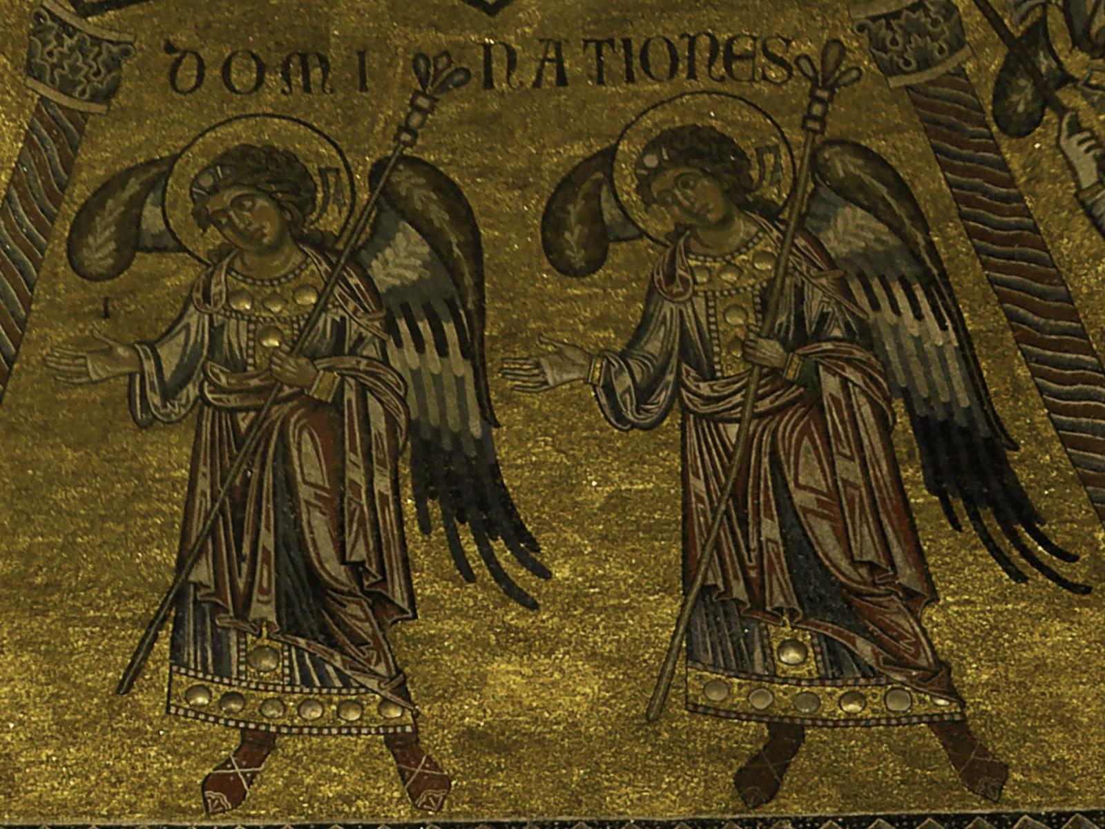 Santas dominações: anjos poderosos e humildes