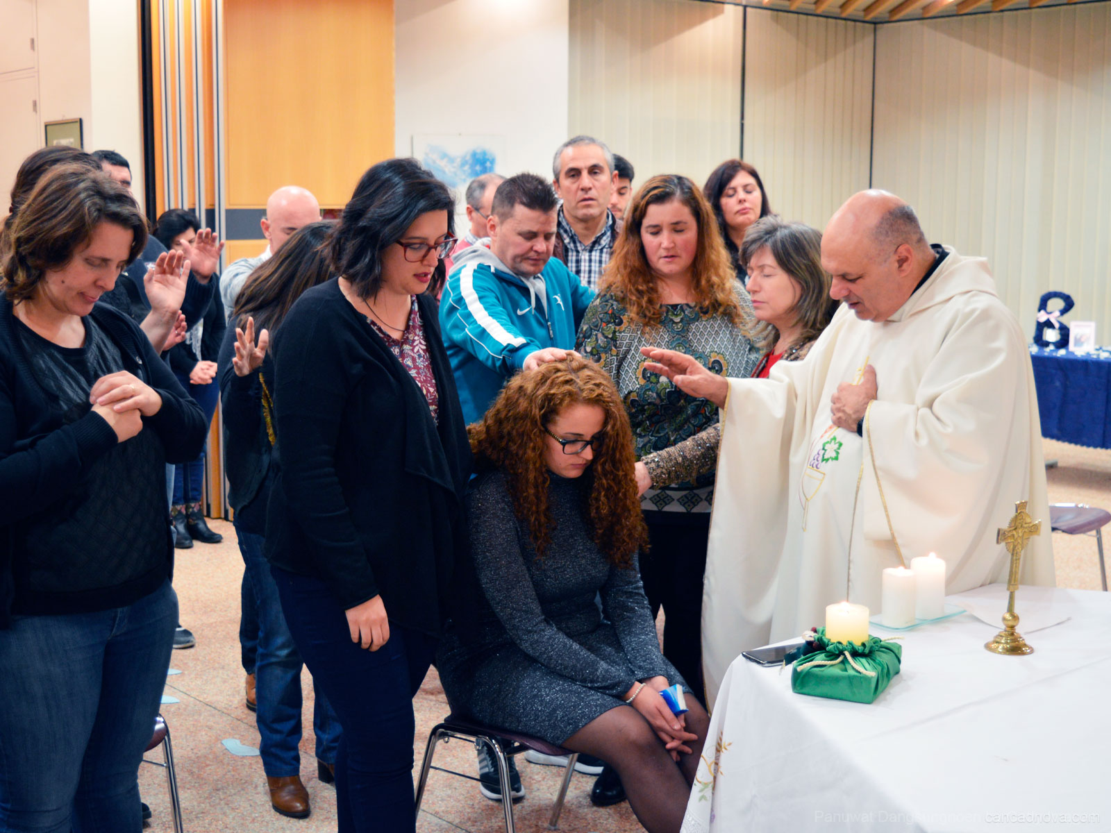 Missa de envio para a Comunidade Canção Nova | Foto: Arquivo pessoal.