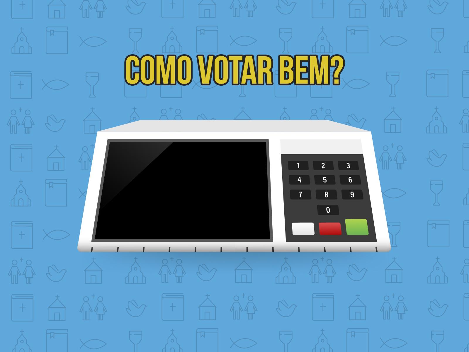 Professor Felipe Aquino orienta como votar bem
