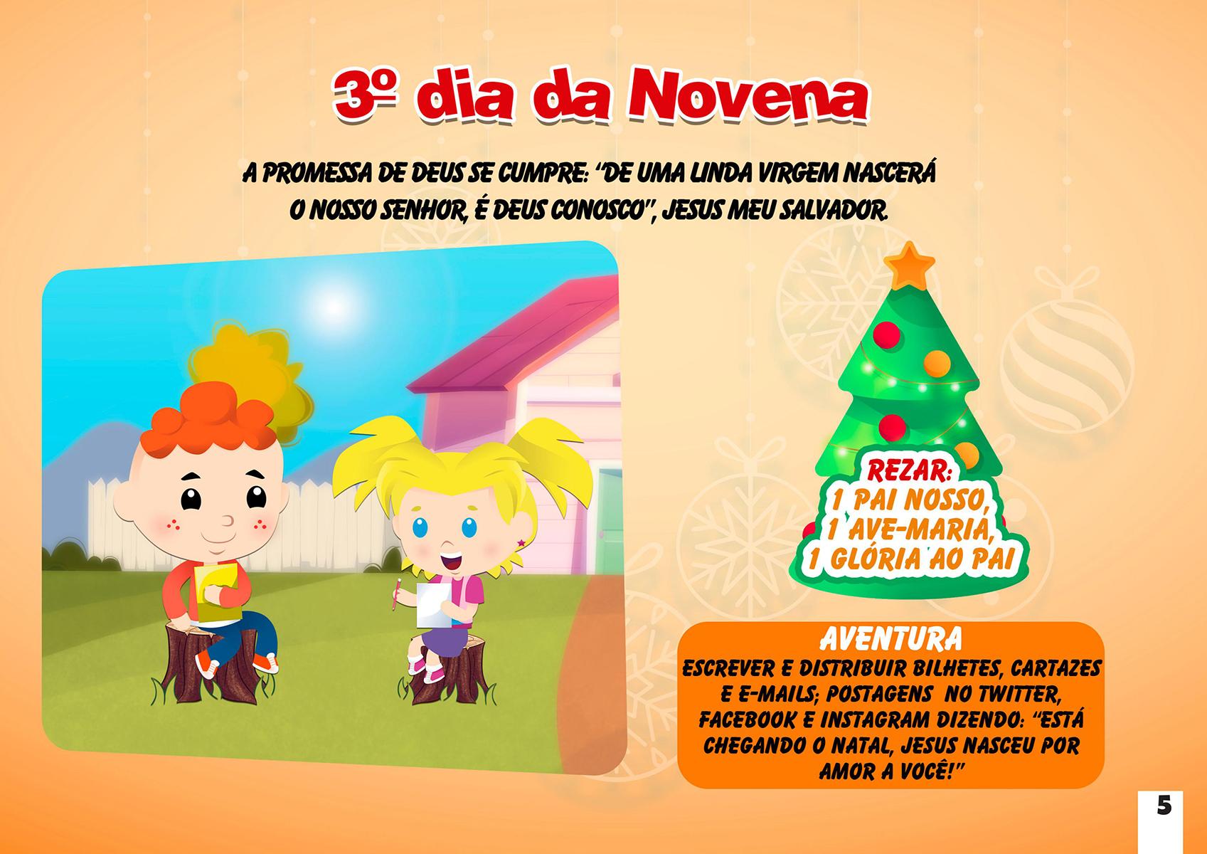 3º dia da Novena de Natal